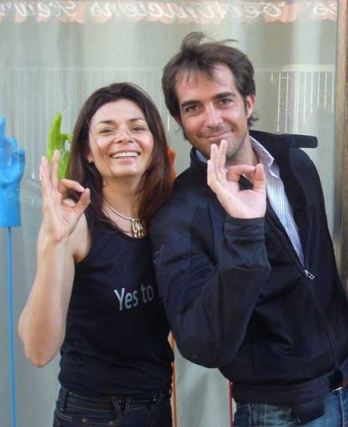 Arnaud et CG say yes to life