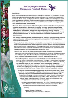 Cover Image of the Resource Guide for Teachers