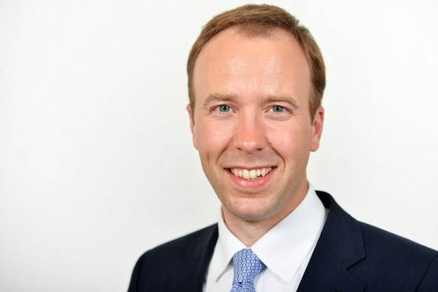 The Rt Hon Matt Hancock MP