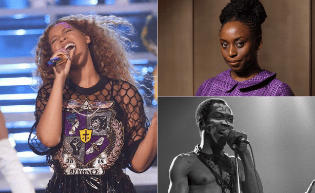 Beyonce Features Adichie's Quotes, and Honours Fela at the Coachella concert