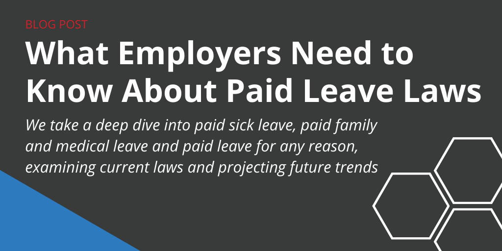 paid leave laws