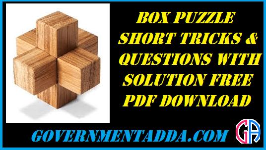 Puzzle Box Pdf