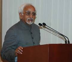 India has a vital stake in peace and stability in this sub-region and in the security of the sea lanes connecting it to the outside world: Shri M. Hamid Ansari