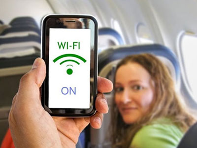 The Ministry of Civil Aviation proposes to allow the use of Wi-Fi in commercial aircrafts
