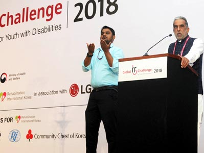 Global IT Challenge for Youth with Disabilities 2018