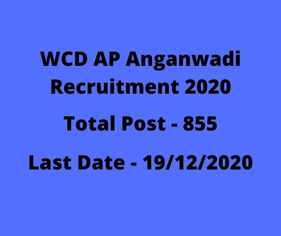WCD-AP-Anganwadi -Recruitment-2021