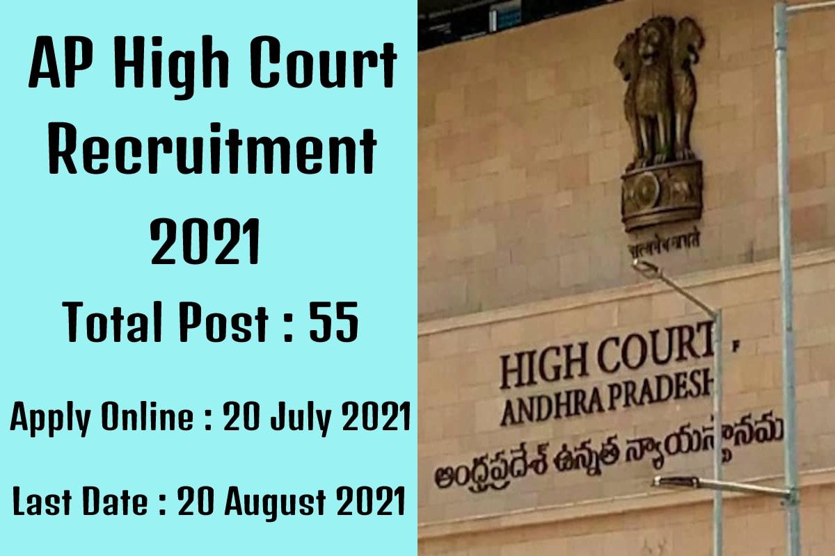 Govt Jobs Andhra Pradesh 2021