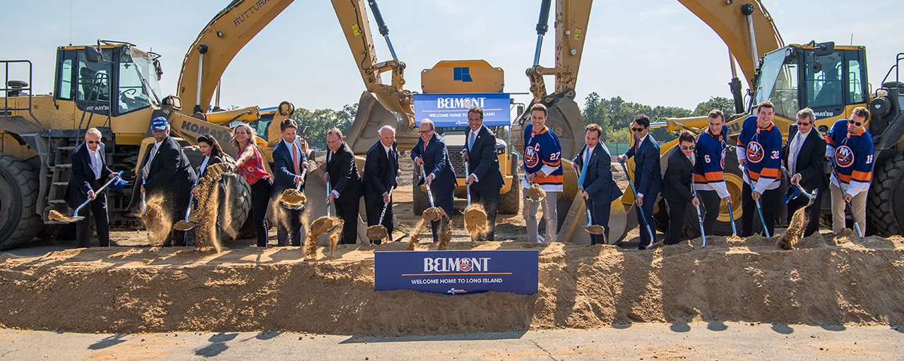 Governor Cuomo Breaks Ground On New Belmont Park Arena