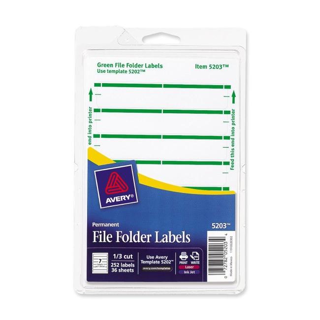 File Cabinet Label Template Avery | memsaheb.net
