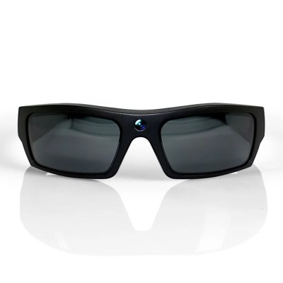 HD Video Recording Glasses Black