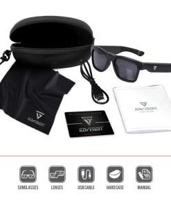 Video Camera Sunglasses Royale Black 7