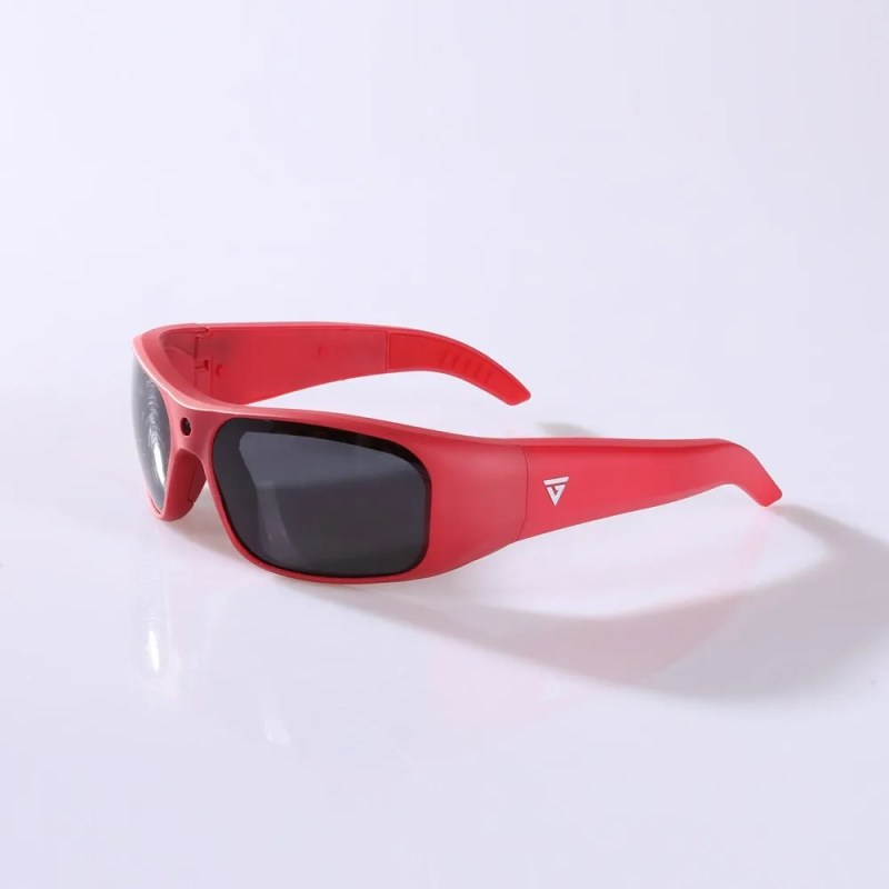 Water Resistant Camera Sunglasses Red 1