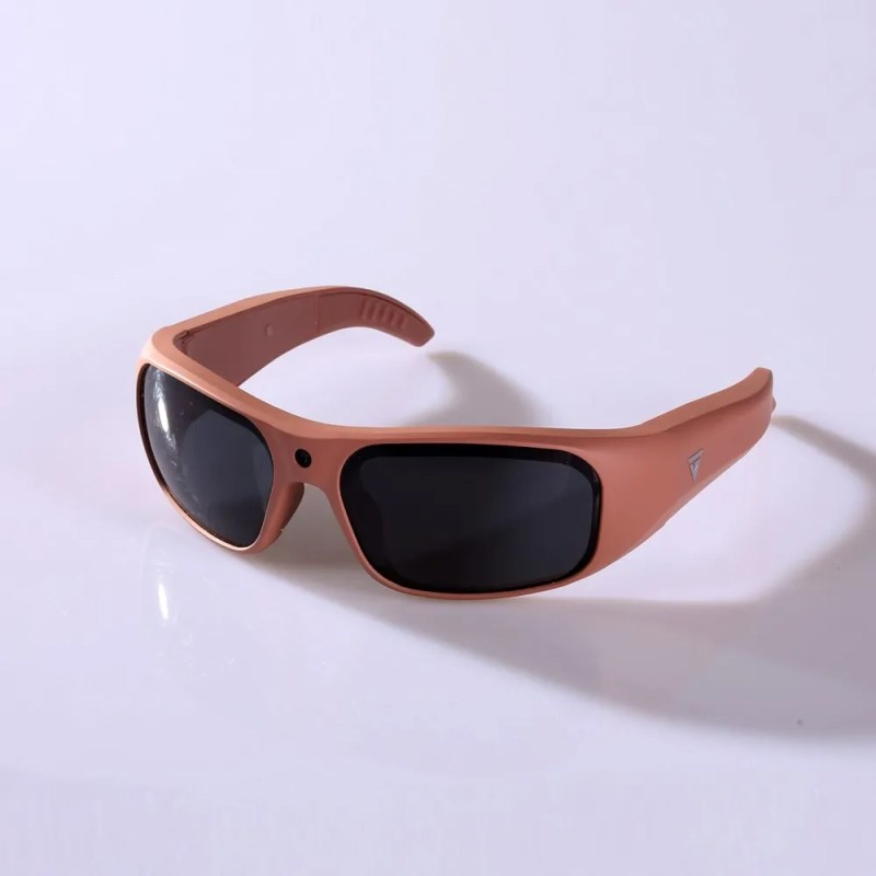 Water Resistant Camera Sunglasses Rose Pink 4