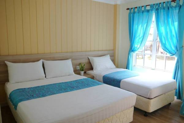 Redang Beach Resort Superior Triple Room
