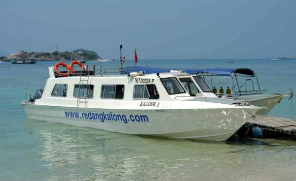 Redang Kalong Resort Private Speed Boat