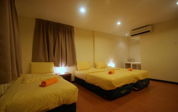 Redang Pelangi Resort Triple Room