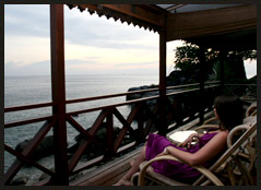 Minang Cove Beach Front Deluxe Sea View Chalet