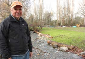 Wally Pereyra, the leading environmentalist in Sammamish, favors a building moratorium. Photo via Google images.