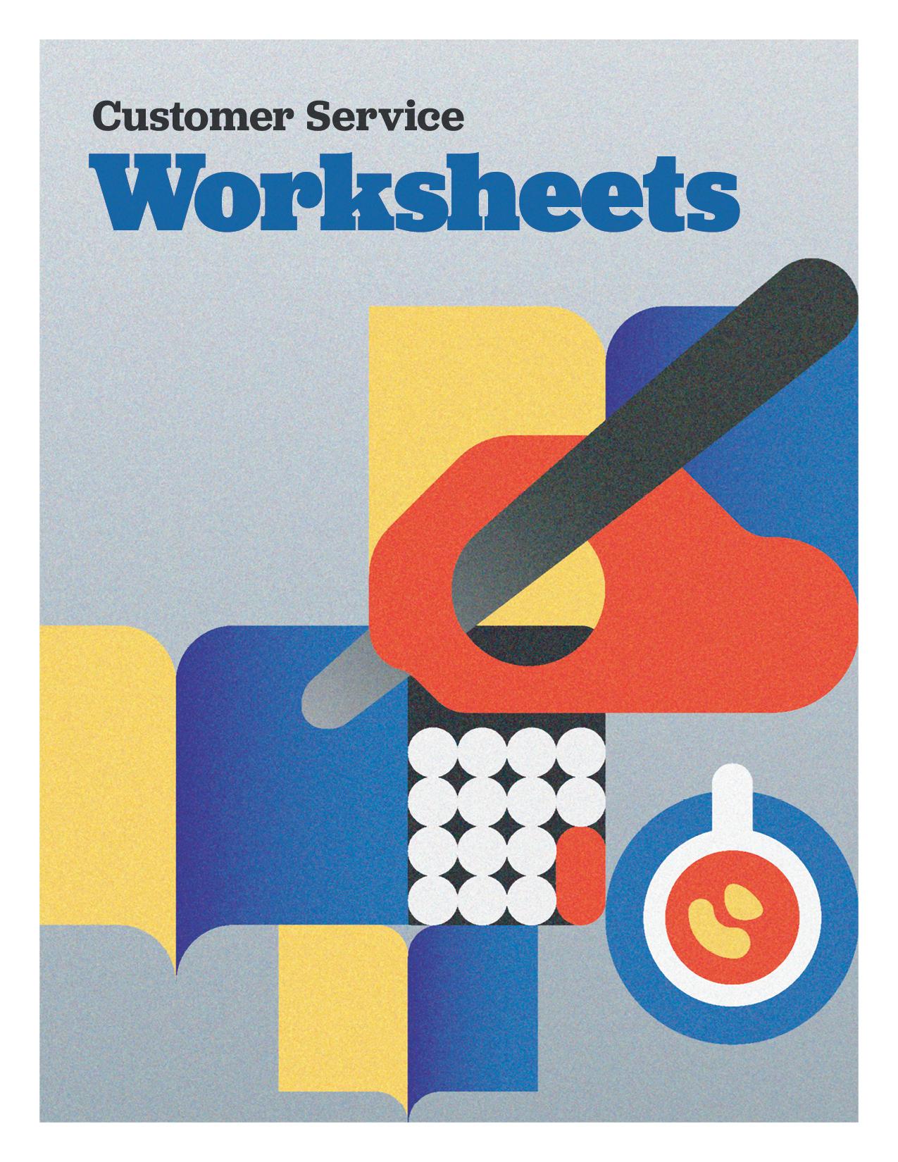 Customer Service Worksheets Resources