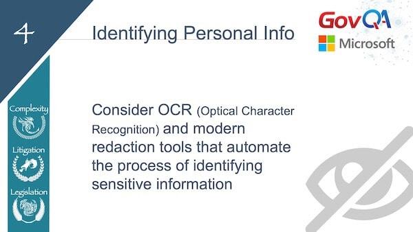 GovQA Slay The Public Records Dragon Presentation Slides ID Personal Info