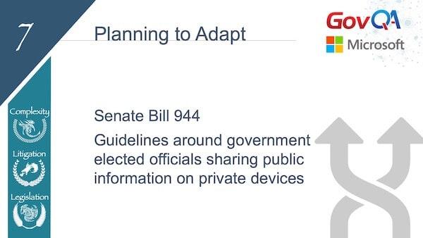 GovQA Slay The Public Records Dragon Presentation Slides Plan to Adapt