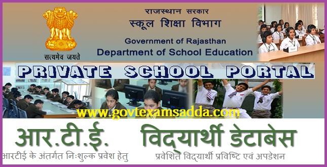 RTE Rajasthan Admission 2019-20