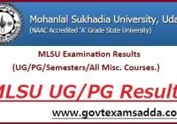 MLSU Result 2020