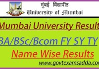 Mumbai University Result 2020