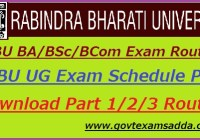 Rabindra Bharati University DDE Exam Routine 2020