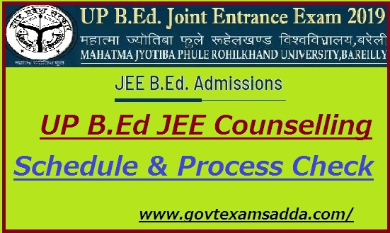 UP B.Ed Counselling 2020