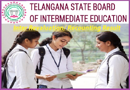 Telangana Intermediate Revaluation Result 2020