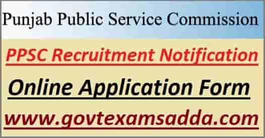 PPSC Vacancy 2021 Notification