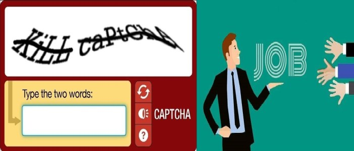 captcha entry jobs