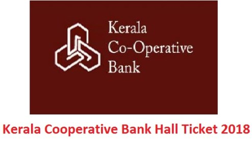 Kerala Cooperative Bank Hall Ticket 2018