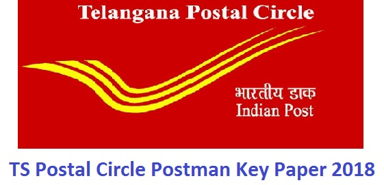 TS Postal Postman Answer Key 2018