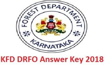 KFD DRFO Answer Key 2018