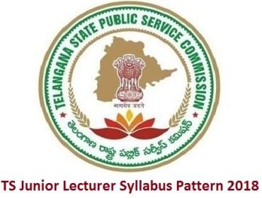 TS Junior Lecturer Syllabus Pattern 2018