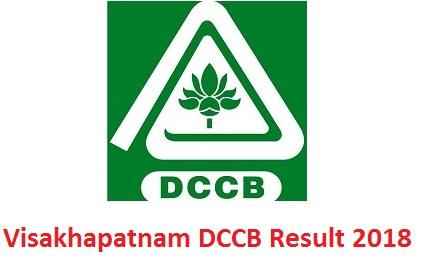 Visakhapatnam DCCB Result 2018