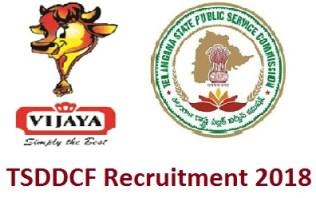 TSDDCF Recruitment 2018