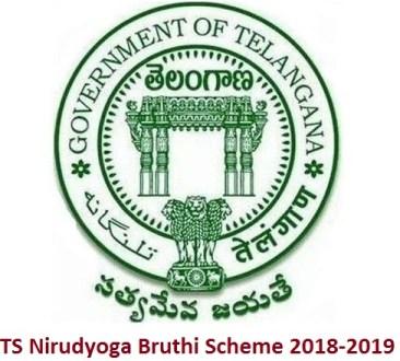 TS Nirudyoga Bruthi Scheme 2018