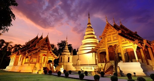 Visit temples of Chiang Mai