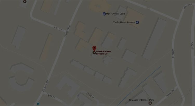 google map of gower business location