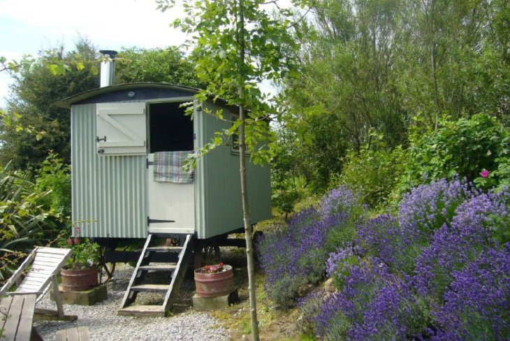 Y Cwtch Shepherd's Hut, Rhossili, Swansea in the Gower Peninsula