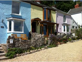Holiday cottages, Mumbles, Gower Peninsula
