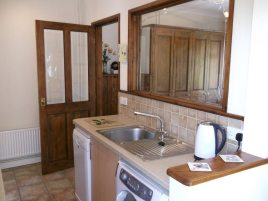 Kitchen at Green Meadows, Three Crosses, Gower Peninsula
