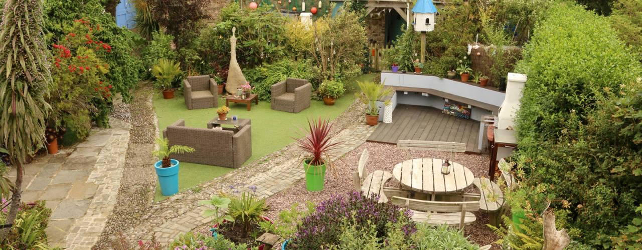 The Garden at Western House B&B in Llangennith, Gower