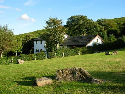 Tallizmand guest house at Llanmadoc, Gower