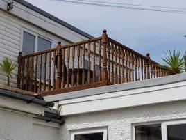 The balcony Sea Breeze Apartment 2, Horton