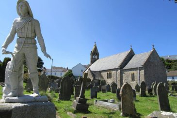 St Cattwg's Church, Port Eynon, Gower Peninsula, Swansea
