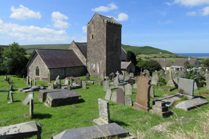 St Cenydd's Church, Llangennith, The Gower Peninsula, Swansea